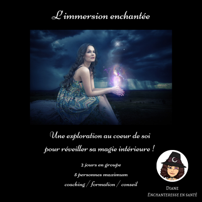 L'immersion enchantée - Diane Enchanteresse en Santé